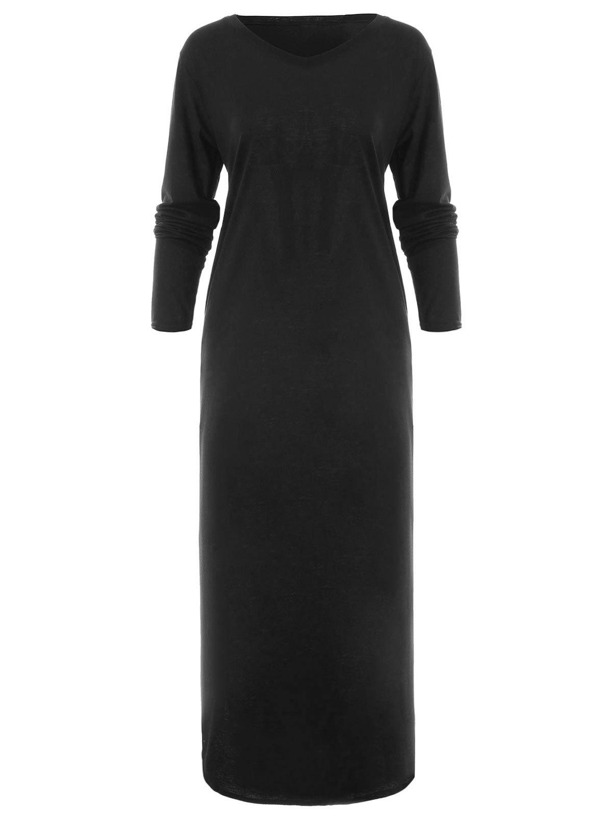 Hot Full Sleeve Longline Dress