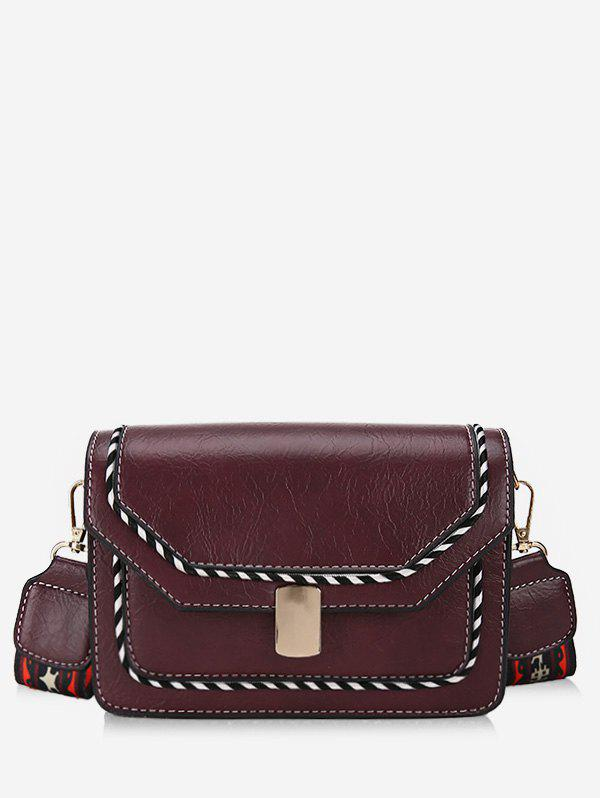 Sale Striped Print Going Out Crossbody Bag
