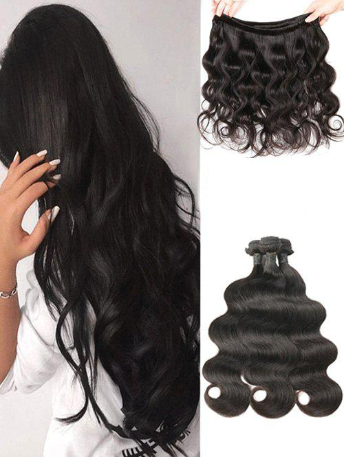 Chic Indian Virgin Human Hair Body Wave Hair Weaves