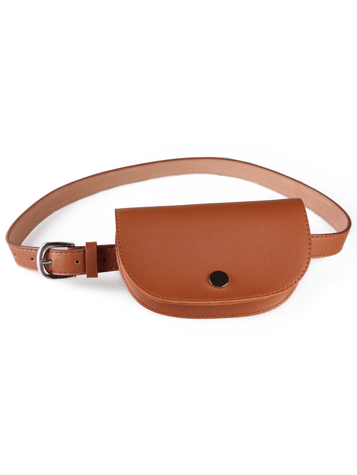 Outfits Stylish Solid Color Fanny Pack Belt Bag