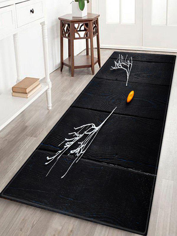 Hot Deer Antler Printed Floor Rug