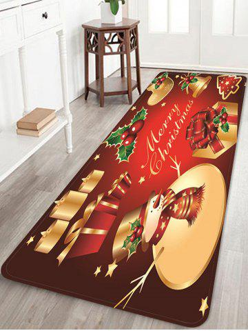 Christmas Props Pattern Anti-skid Water Absorption Area Rug