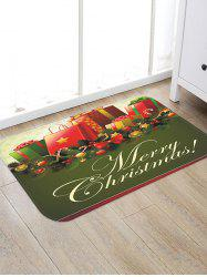 Christmas Gifts Pattern Anti-skid Water Absorption Area Rug -