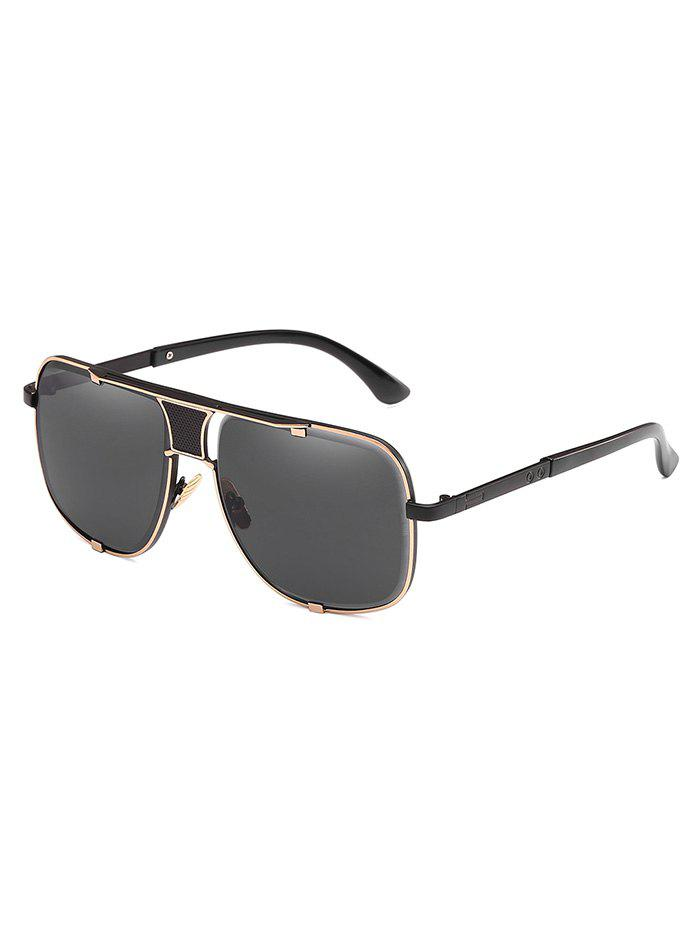 Fashion Statement Metal Square Frame Sunglasses