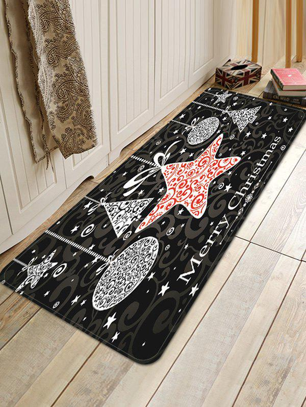 Hot Merry Christmas Pattern Water Absorption Anti-skid Area Rug