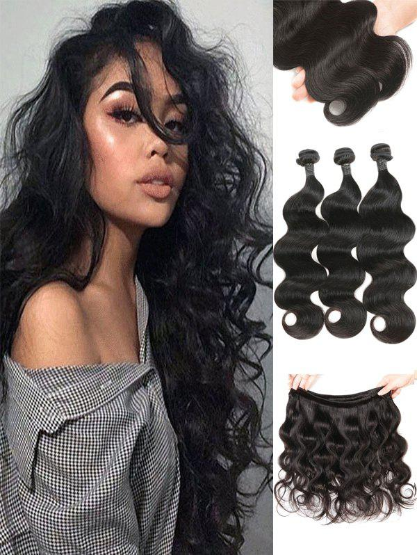 69 Off 2018 3pcs Real Human Hair Malaysian Virgin Body Wave Hair