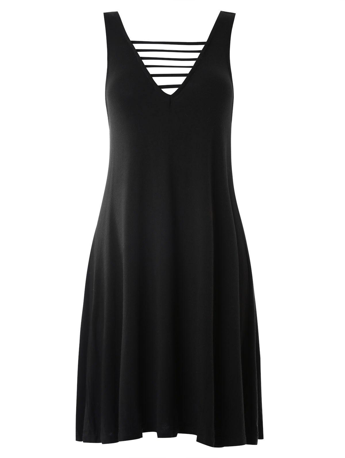 Fashion Cut Out Tank Dress