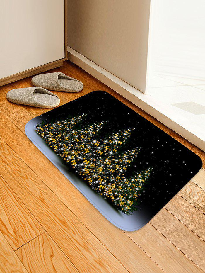 Outfit Christmas Tree Printed Floor Mat