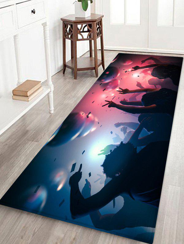 Online Christmas Celebrate Printed Floor Mat
