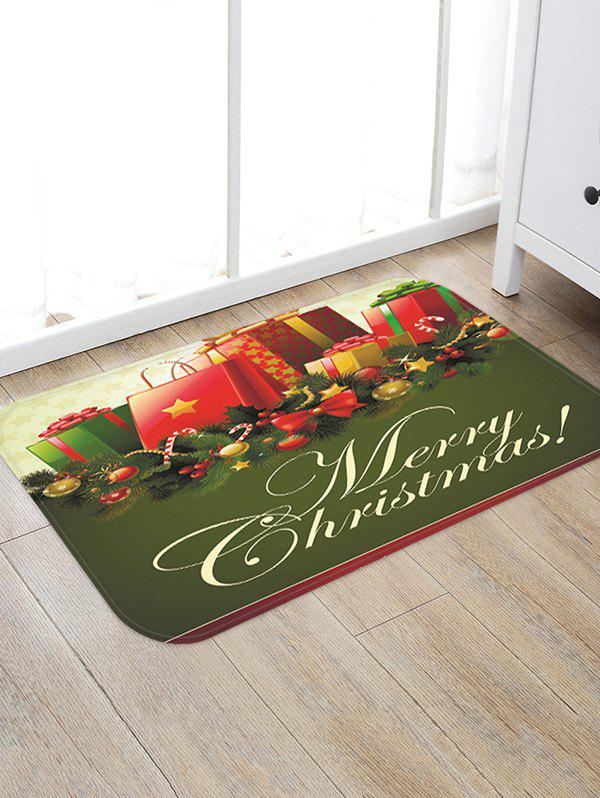Discount Christmas Gifts Pattern Anti-skid Water Absorption Area Rug