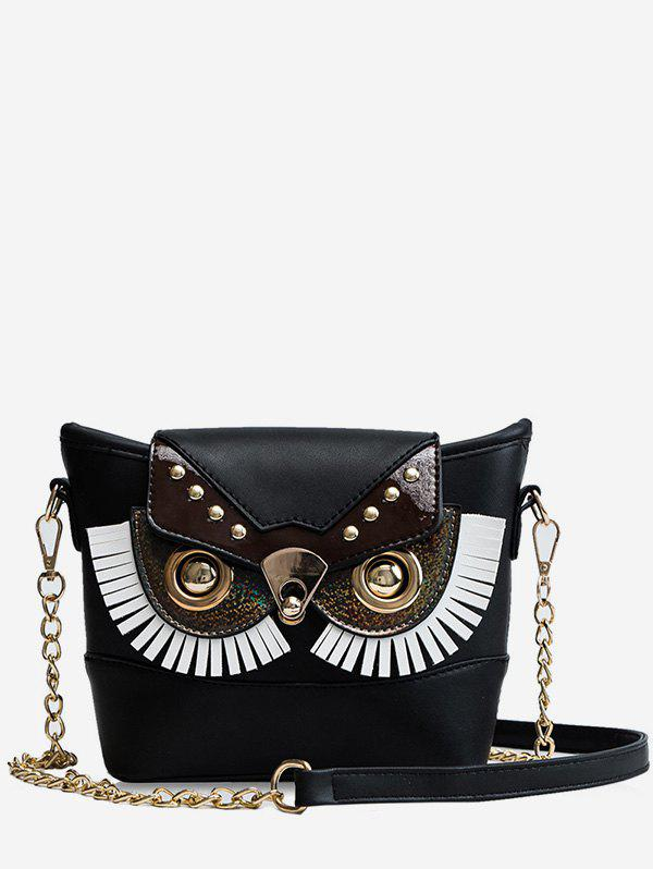 Sale Owl Shape Chain Crossbody Bag