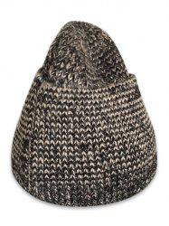Winter Solid Color Knitted Flanging Beanie -