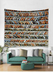 Brick Stone Wall Print Tapestry Wall Hanging Art Decoration -