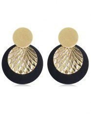 Layer Round Shape Earrings -