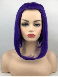 Heat Resistant Synthetic Anime Party Short Inverted Bob Wig -