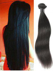 Peruvian Virgin Real Human Hair Straight Hair Weave -