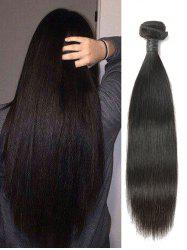 Indian Virgin Straight Human Hair Weaves -