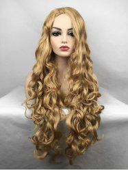 Middle Part Body Wave Long Synthetic Wig -