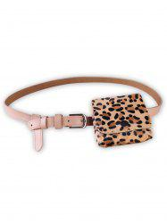 Leopard Fanny Pack Artificial Leather Belt Bag -