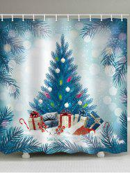 Christmas Gift Decorated Bathroom Shower Curtain -
