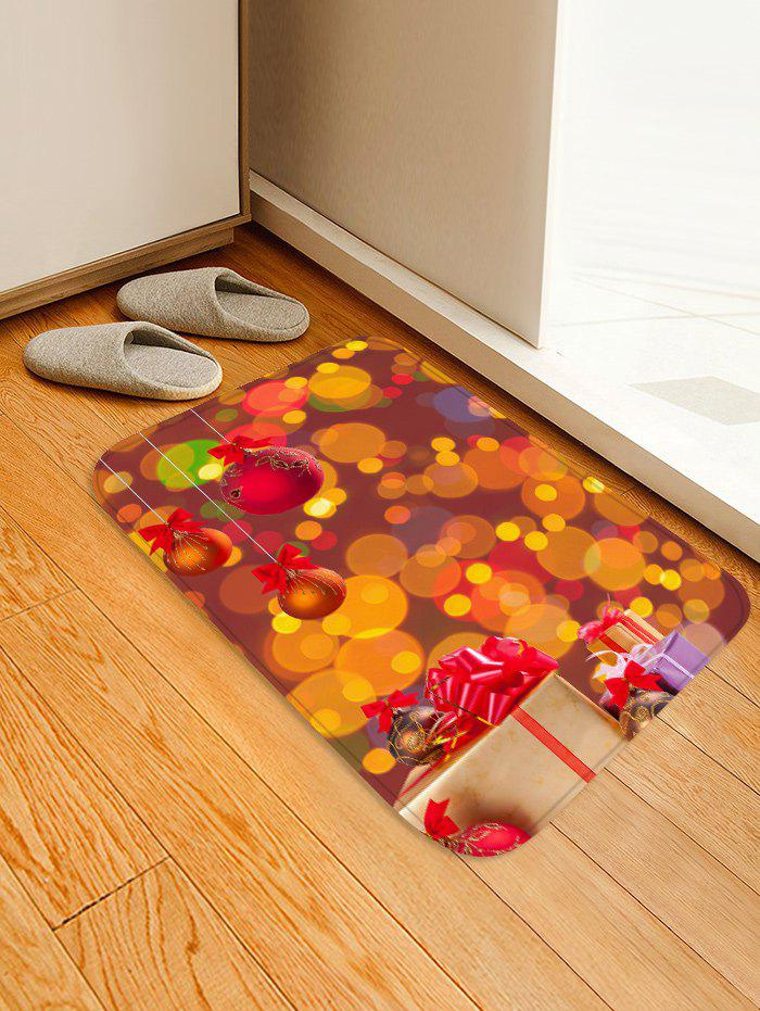 Outfit Christmas Gift Ball Printed Floor Mat