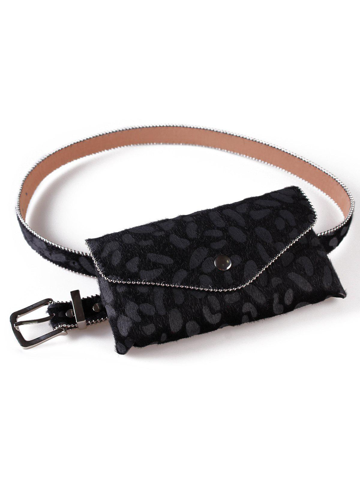Outfit Stylish Leopard Printed Fanny Pack Belt Bag