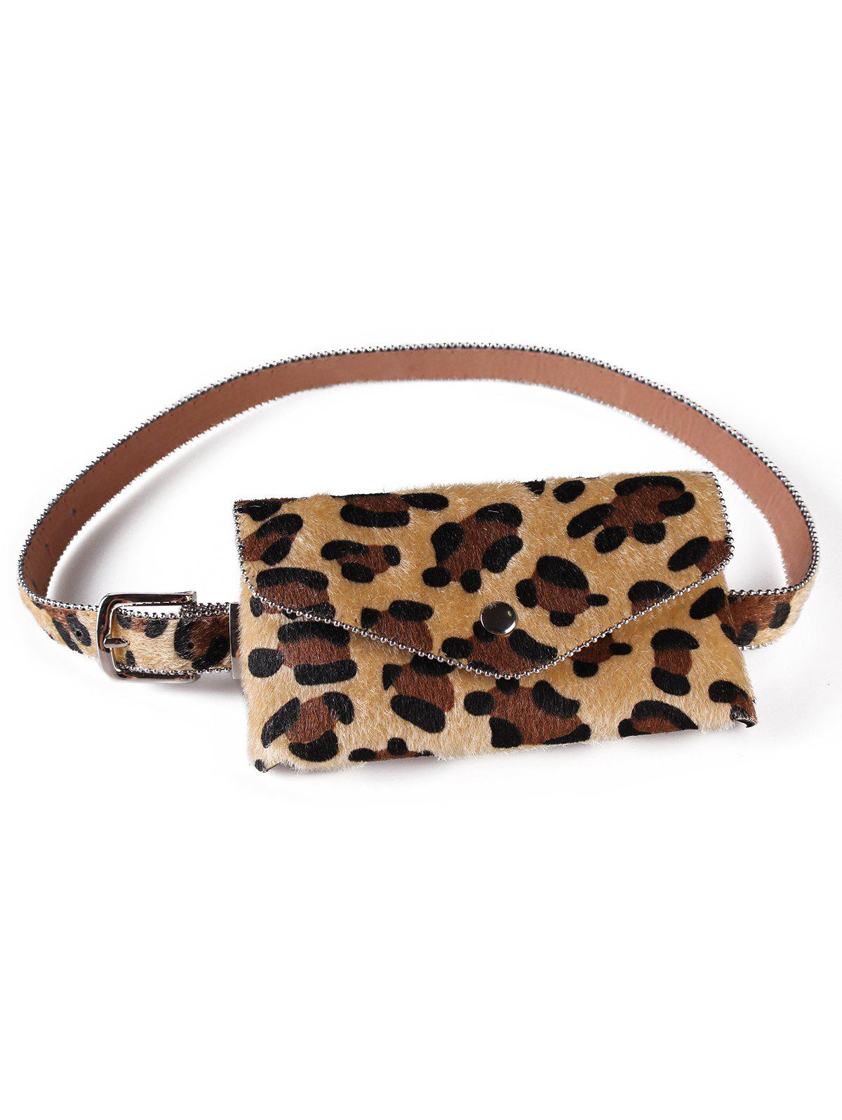 Chic Stylish Leopard Printed Fanny Pack Belt Bag