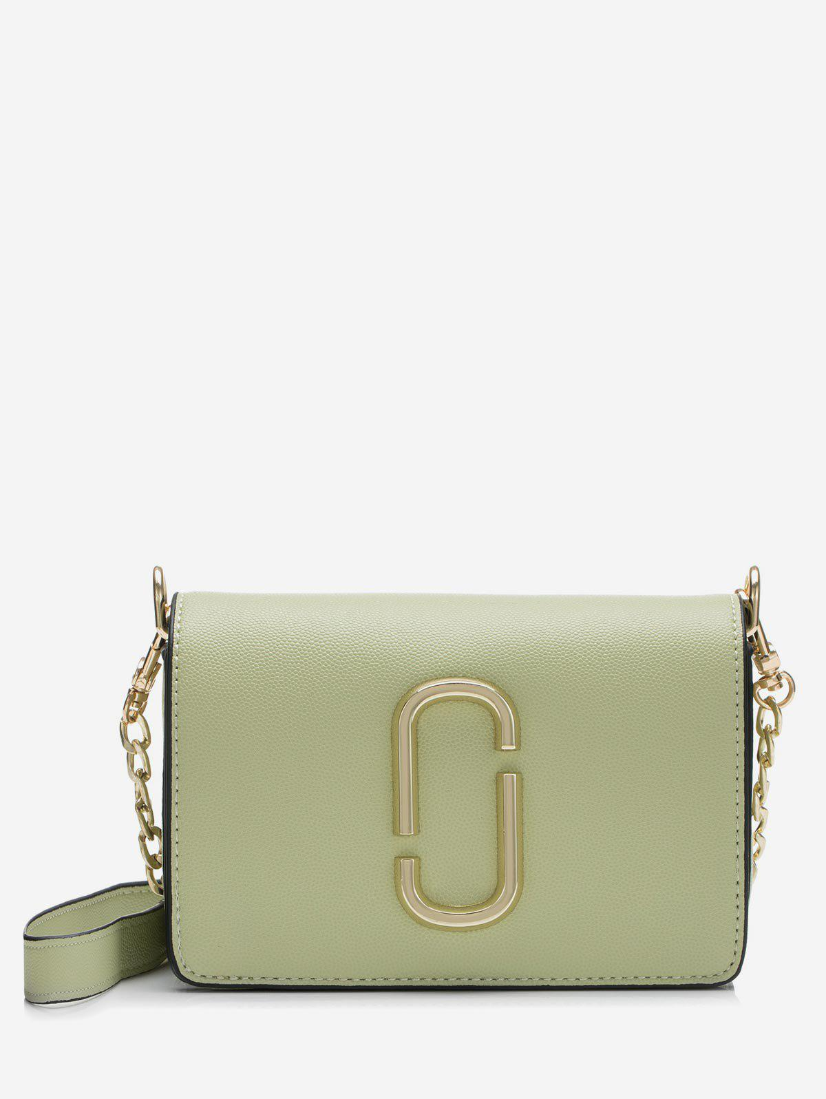 Store Metal Buckle Flap Mini Crossbody Bag
