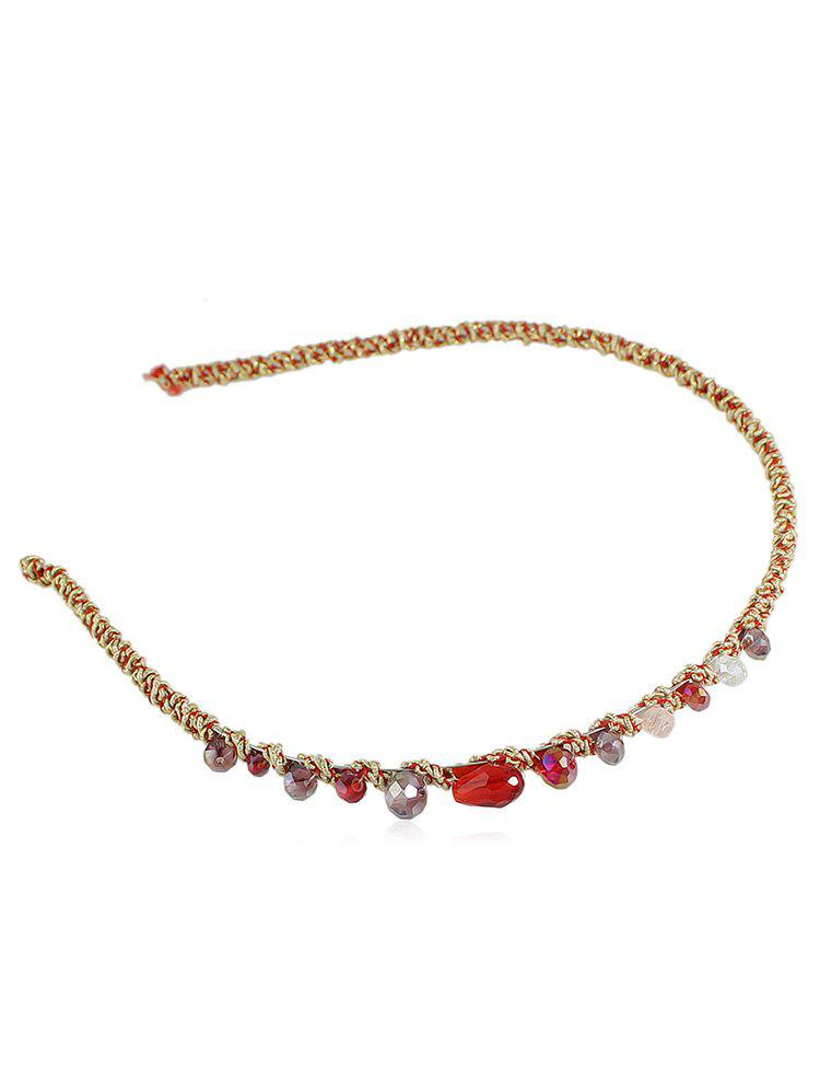 Chic Round Artificial Crystal Headband