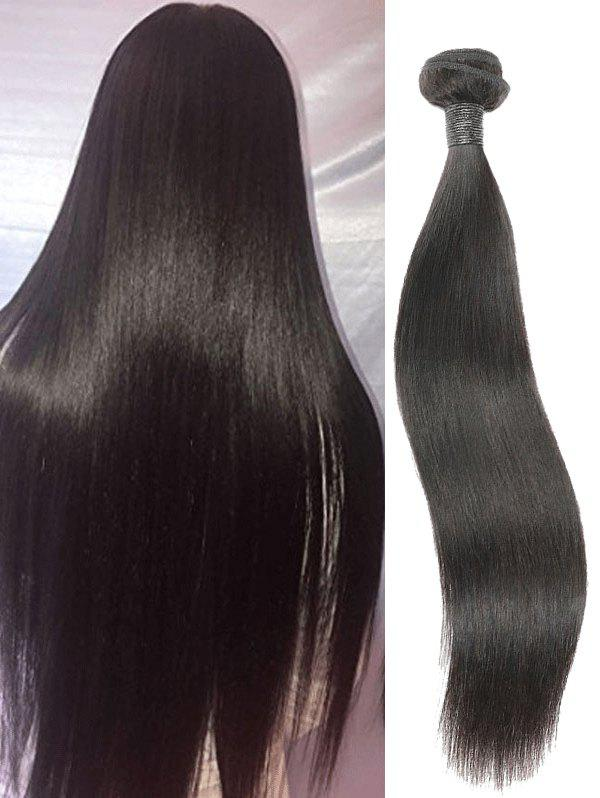 Unique 1Pc Brazilian Real Human Hair Straight Hair Weaves