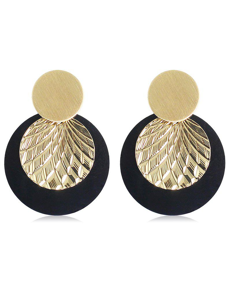 Online Layer Round Shape Earrings