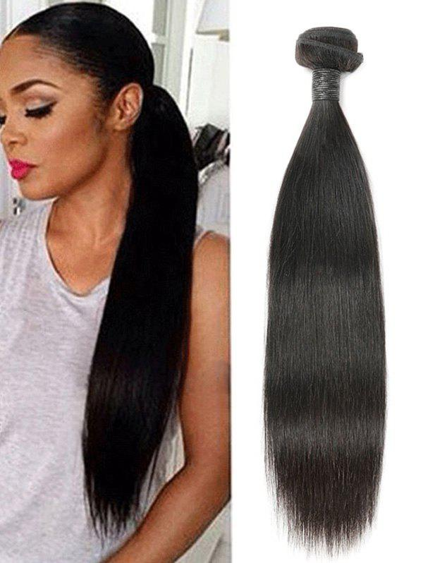 Trendy Malaysian Straight Real Human Hair Weaves