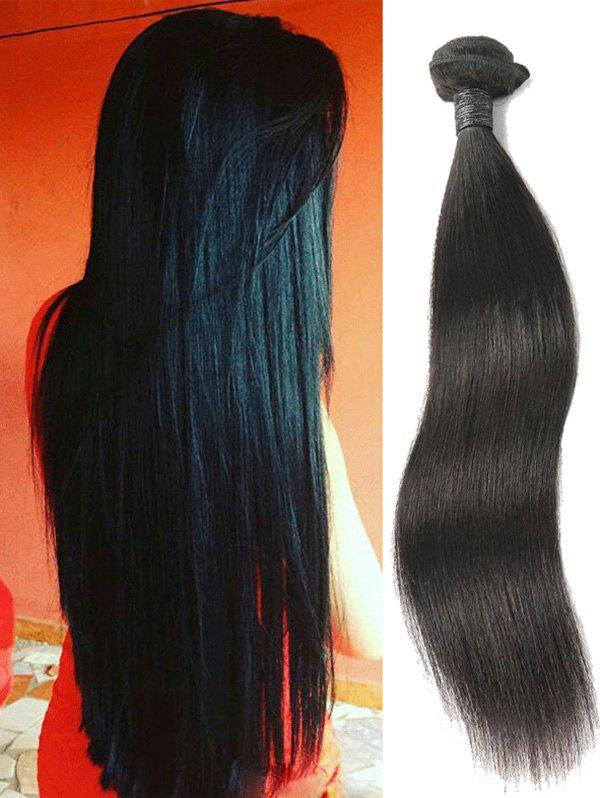 Online Peruvian Virgin Real Human Hair Straight Hair Weave