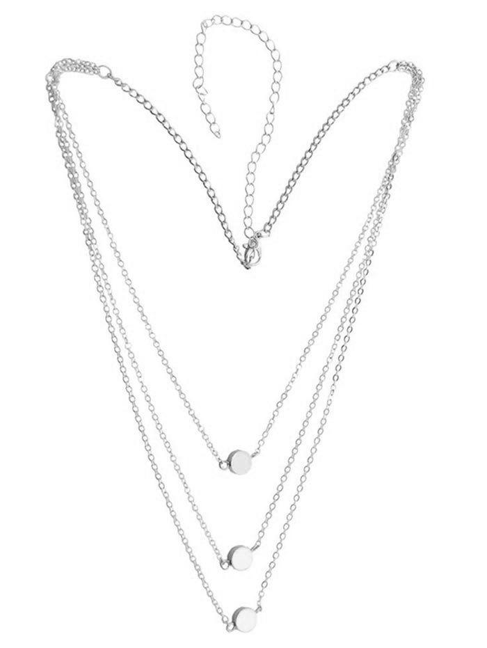 Online Small Round Shape Chain Necklace