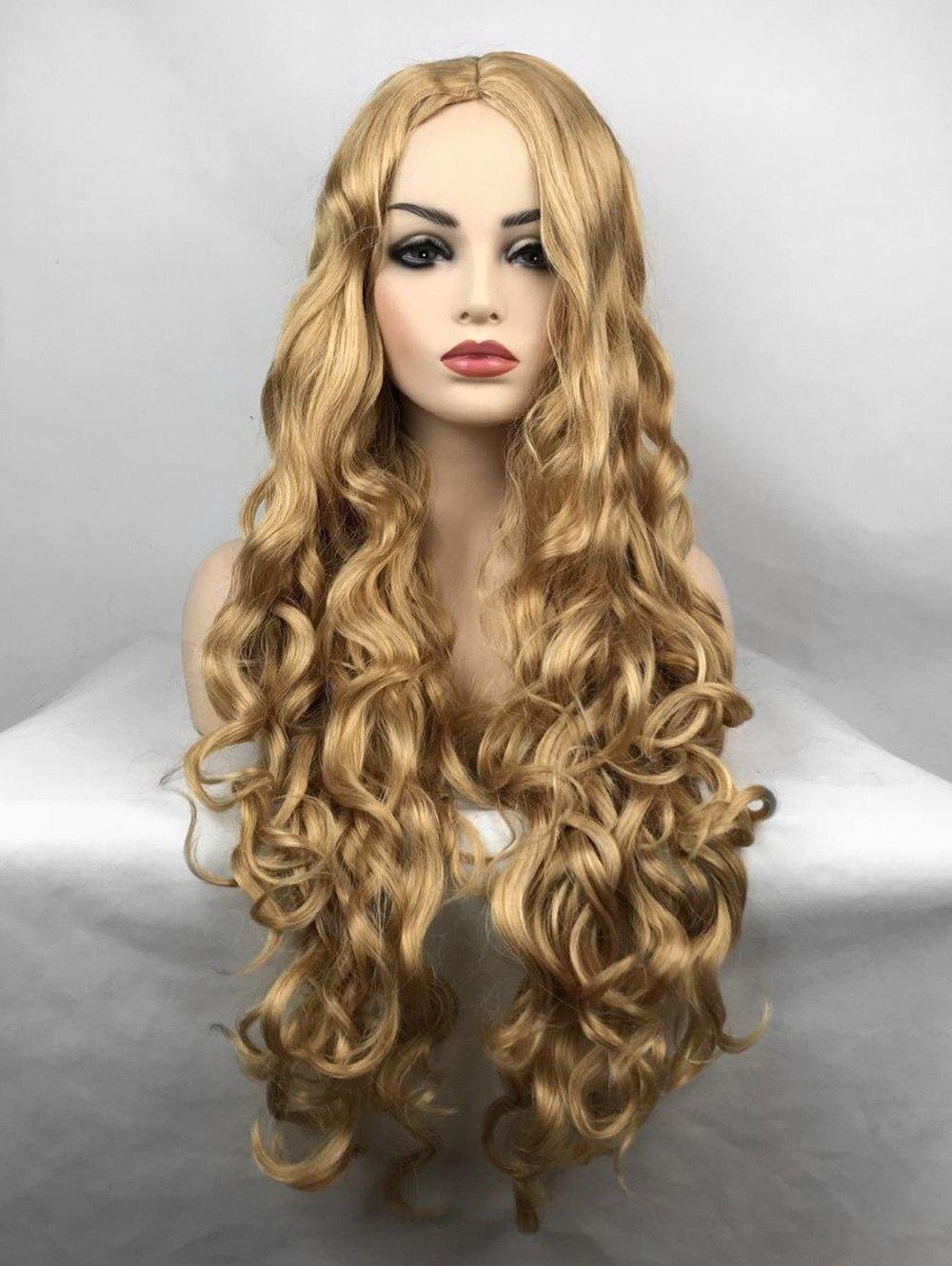 Outfits Middle Part Body Wave Long Synthetic Wig