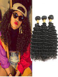 Peruvian Human Hair Deep Wave Hair Weaves -