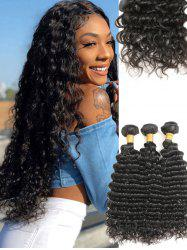 Brazilian Virgin Deep Wave Human Hair Weaves -