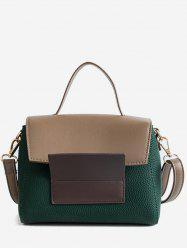 Color Block Going Out Handbag -