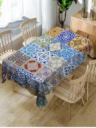 Bohemian Style Printed Table Cloth -