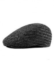 Solid Color Knitted Jeff Hat -