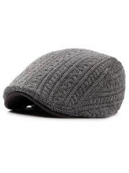 Winter Knitted Thick Jeff Hat -