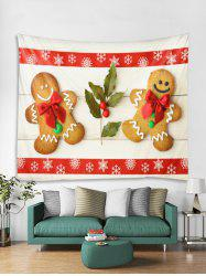 Christmas Cookies Snowflake Pattern Tapestry Art Decoration -