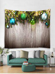 Christmas Wooden Print Tapestry Art Decoration -