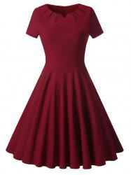 Knee Length Vintage Cocktail Dress -