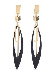 Stylish Geometry Alloy Drop Earrings -