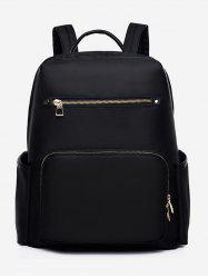 Front Pocket Nylon School Backpack -