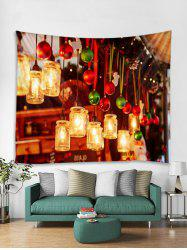 Christmas Light Print Tapestry Art Decoration -
