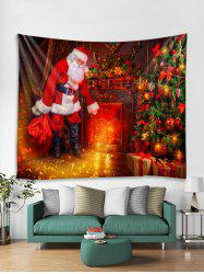 Father Christmas 3D Print Tapestry Art Decoration -