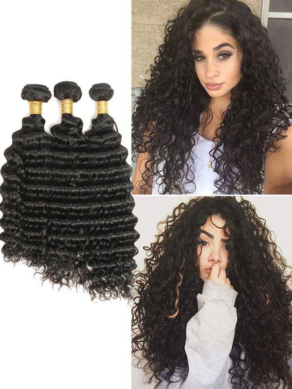 Shop Malaysian Virgin Human Hair Deep Wave Hair Weaves
