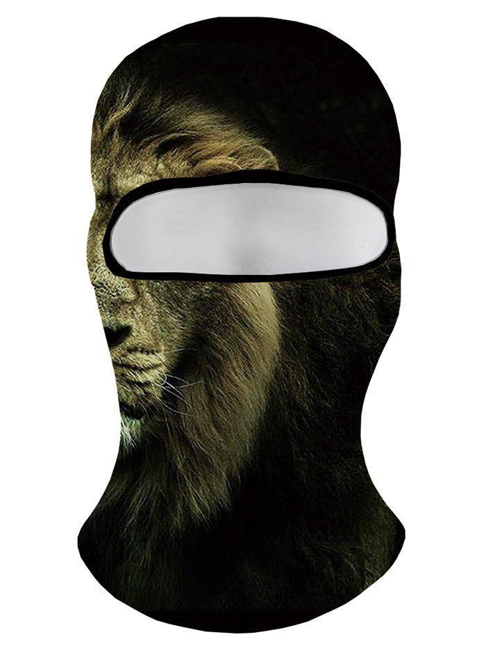 Fashion Dreamy Lion Printed Windproof Sport Hat